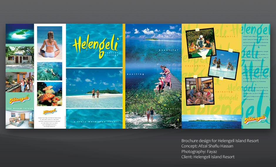 Helengeli brochure design