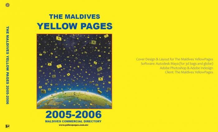 Yellowpages Cover Design