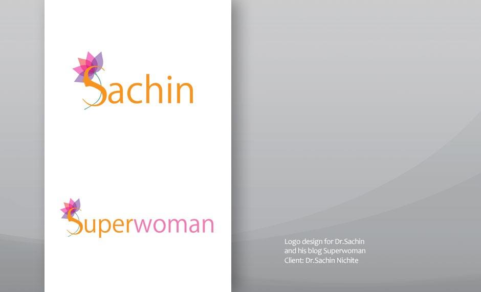 Dr.Sachin Nichite Logo Design